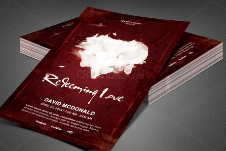 Redeeming Love Church Flyer (84346)