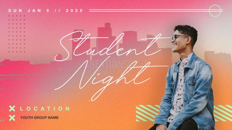 Student Night Slide (84360)