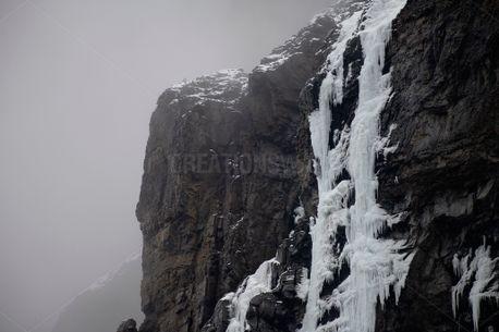 Icy Waterfall (84703)