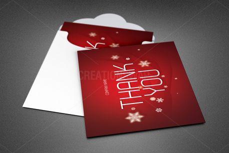 Christmas Thank You Card (84759)