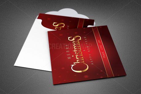 Family Christmas Greeting Card (84765)