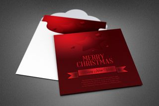 Christmas Star Greeting Card