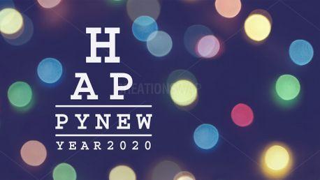 Happy New Year 2020 Slide (84858)