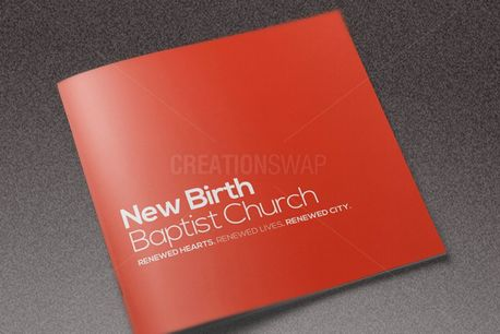 Core Church Brochure Template (84958)