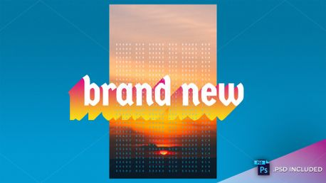 Brand New // PSD Included (85070)