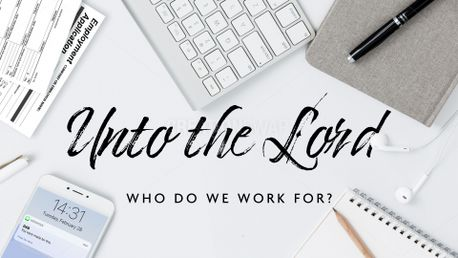 Unto the Lord (85189)