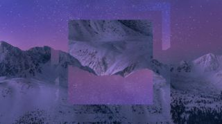 Purple Mountains Motion Loop