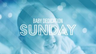 Baby Dedication Title