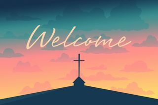 Welcome Slide PSD