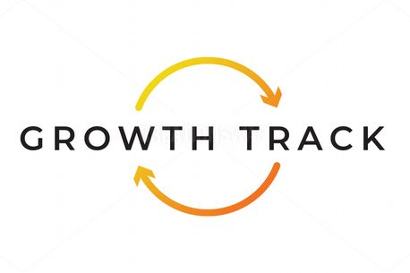 Growth Track Logo-Color/BW (85863)