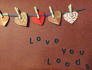 Handmade Heart card!