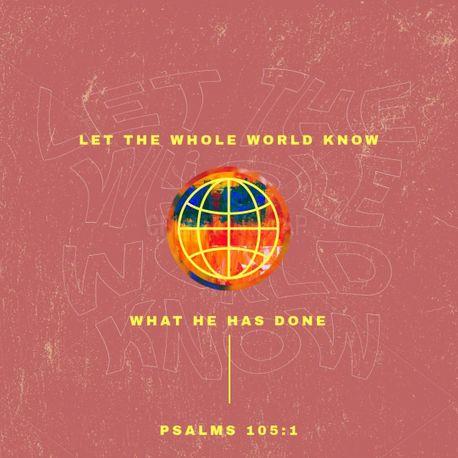 Psalms 105 (86000)