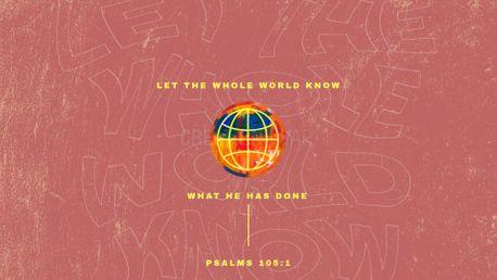 Psalms 105 (86001)
