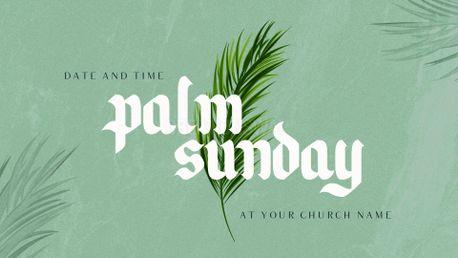 Palm Sunday 2020 (86032)