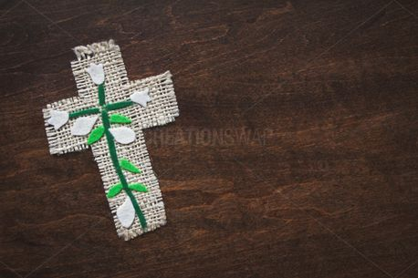 Easter Cross Craft On Wood (86051)