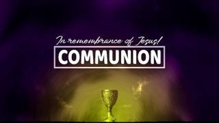 Communion Cup In Remembrance