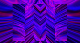 Purple Waves Motion Background
