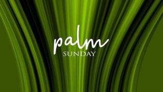 Palm Sunday Text Graphics