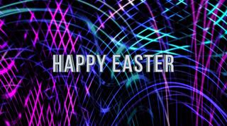 Glow Strings Happy Easter