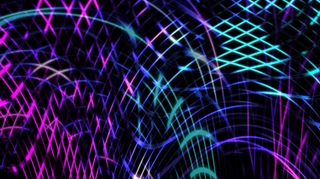 Glow Strings Background
