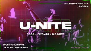 U-nite Worship Night Slide