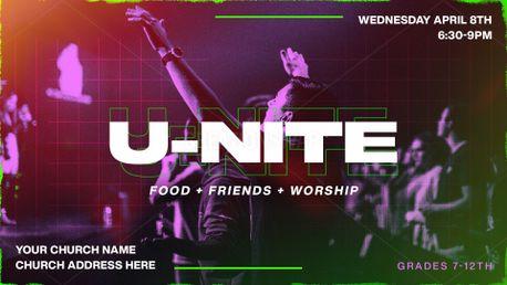 U-nite Worship Night Slide (86402)