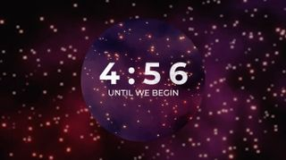 Cosmic Particles Countdown
