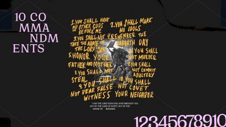 10 Commandments Series Graphic (86461)