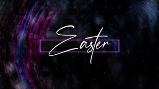 Easter Title Worship Graphics