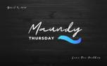 Maundy Thursday (86659)