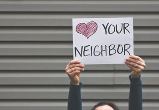 Love Your Neighbor Sign