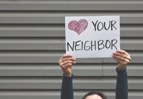 Love Your Neighbor Sign (86909)
