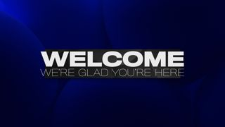 Livestream Welcome Title