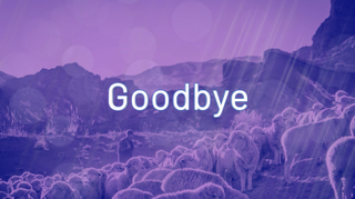 Shepherd Goodbye