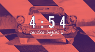 Drive-In Church Countdown