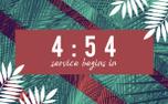 Palm Sunday Countdown (87220)
