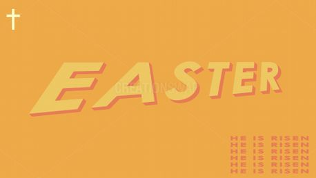 """Easter """"He Is Risen"""" (87290)"""