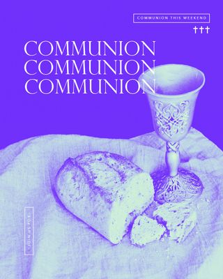 Communion Colorful Social