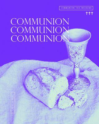 Communion Colorful Social