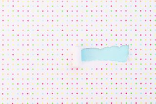Torn Polka Dot Paper