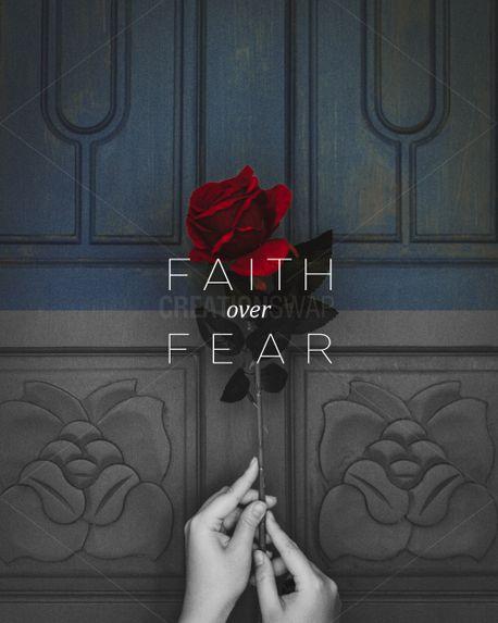 Faith Over Fear Social  (87399)