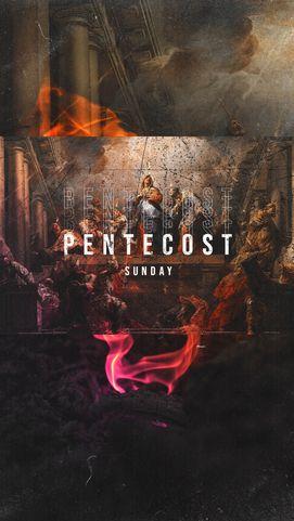 Pentecost Sunday Vintage