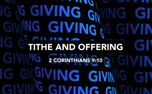 Tithe and Offering (87558)
