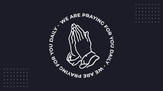 We Are Praying Logo