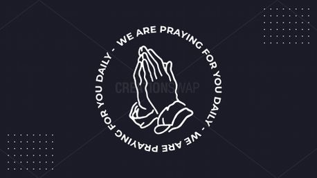 We Are Praying Logo (87572)