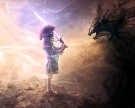 Brave little girl (87649)