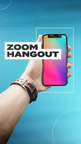 Zoom Hangout Social Pack