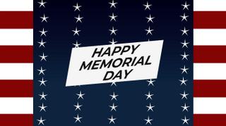 Stars Memorial Day