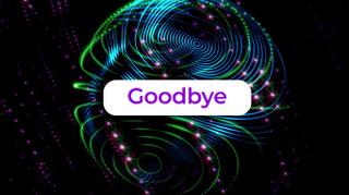 Spheroid Goodbye