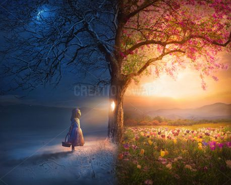 Child and Seasons (88243)